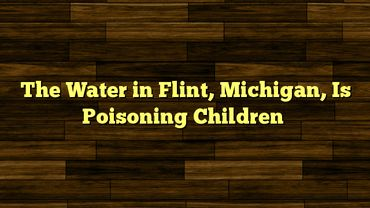 Code Pink Productions, Inc. Raising Funds to Donate Water Filters to Flint Michigan Residents