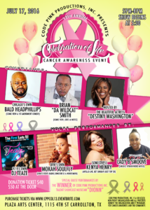 Flyer for the 13th annual Celebration of Life Cancer Awareness Event